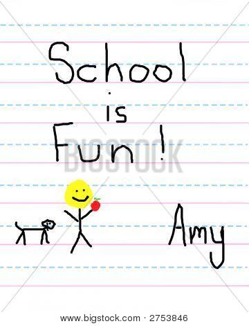 Child Loves School