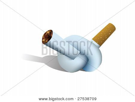 The Cigaret Braided In Knot