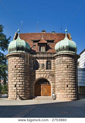 Gate, Nuremberg, Germany