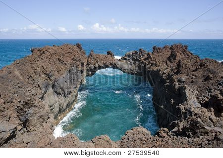 Arco de la Tosca, the stone arch at western coast of El Hierro