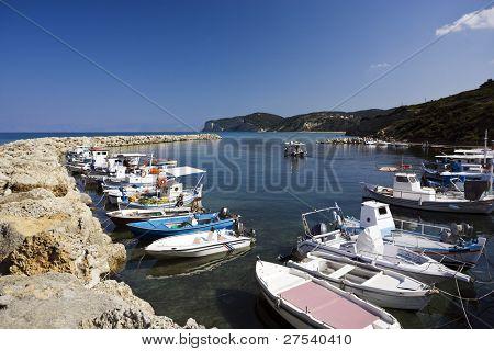 harbor of Agios Stefanos, Corfu