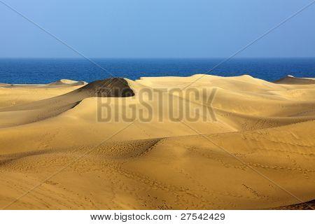 Las Dunas de Maspalomas em Gran Canaria