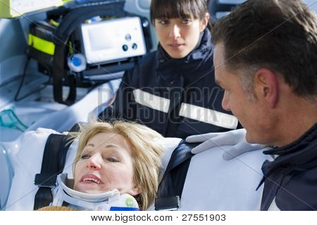 Paramedics With Patient