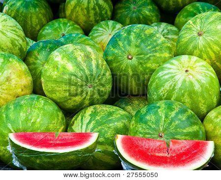 Bushel Of Watermelons
