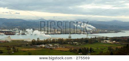 Panorama: Longview, Washington