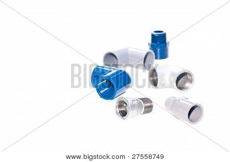 Assorted Plumbing Iron Fittings