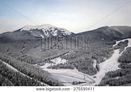 The Beautiful Mountain Resort Of
