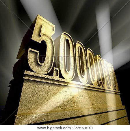 Five million