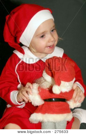 Santas Little Girl