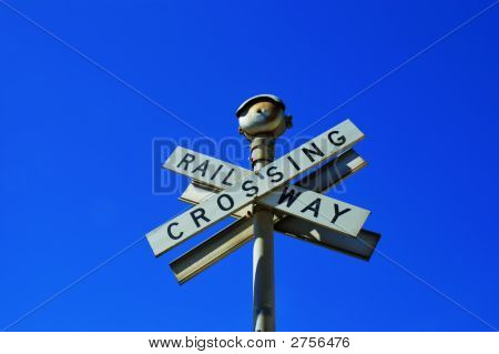Crossed Signs Reading