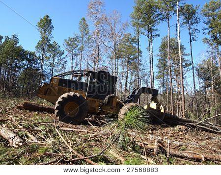 Logging Skidder