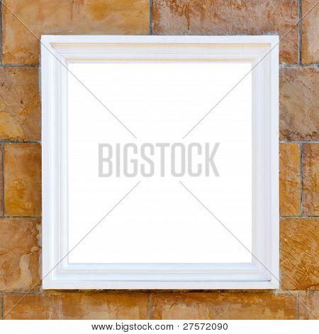 Big White Frame
