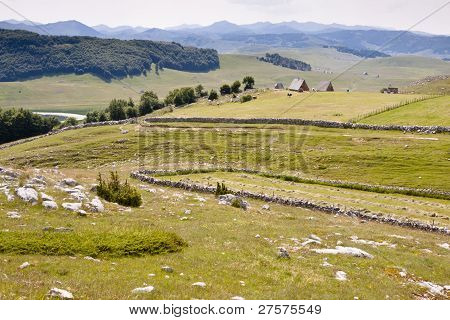 Village In Valley - Durmitor