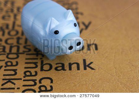 Conceito de Piggy Bank