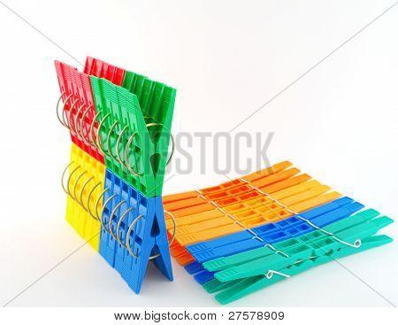 Sets Color Clothes-pegs
