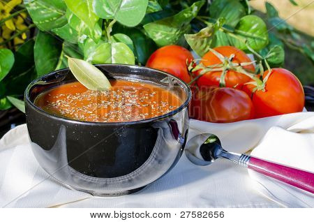 Tomato Soup Outside