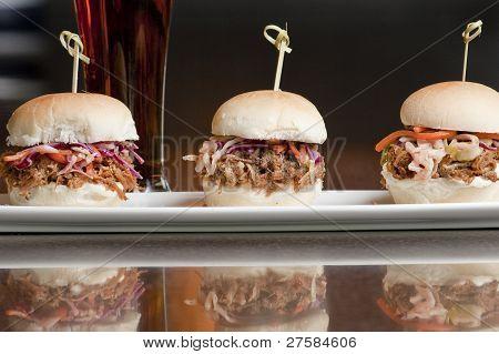 Mini Pulled Pork Sandwiches
