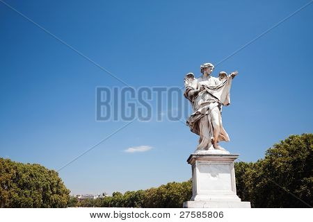Ponte Sant'Angelo Bridge Statue