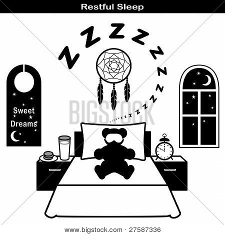 Restful Sleep Icons