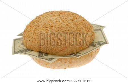 dollars sandwich