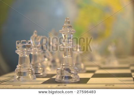 Chess in the World Background