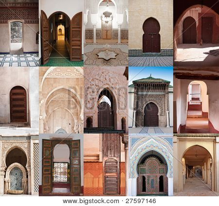 Arab Doors And Arches
