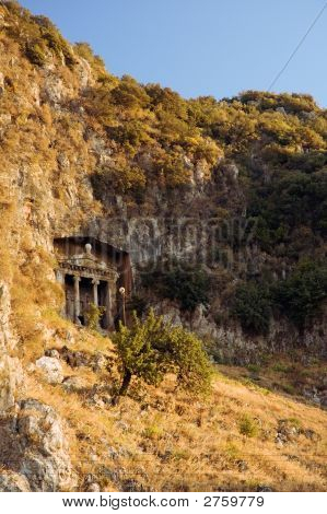 Tomb Of Ancient Lykia King