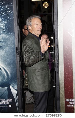 LOS ANGELES - 3 de novembro: Clint Eastwood na AFI Fest 2011 Opening Night Gala mundial estréia de ' Ed J.