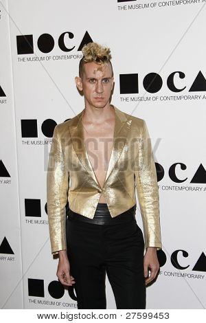 LOS ANGELES - NOV 12: Jeremy Scott at the 2011 MOCA Gala, An Artist's Life Manifesto at MOCA Grand Avenue on November 12, 2011 in Los Angeles, California