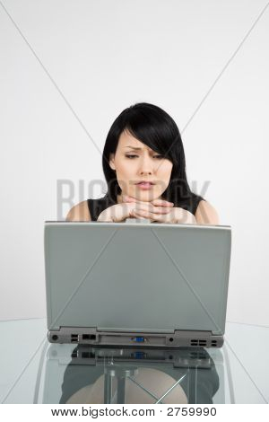 Working Businesswoman