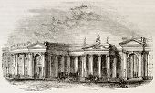 Irish bank, Dublin. Irish parliament seat before UK unification. By unidentified author, published o