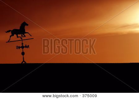 Weathervane Sunset
