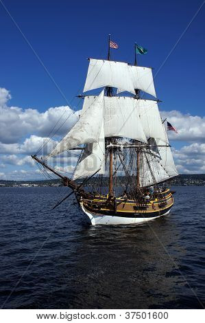 The Wooden Brig, Lady Washington