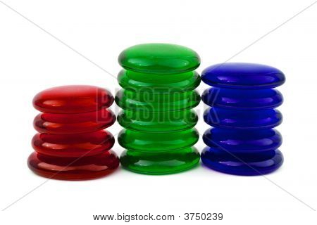 Abstract Glass Stacks