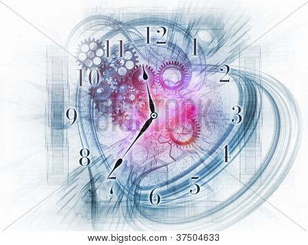 Surreal Clock Concept