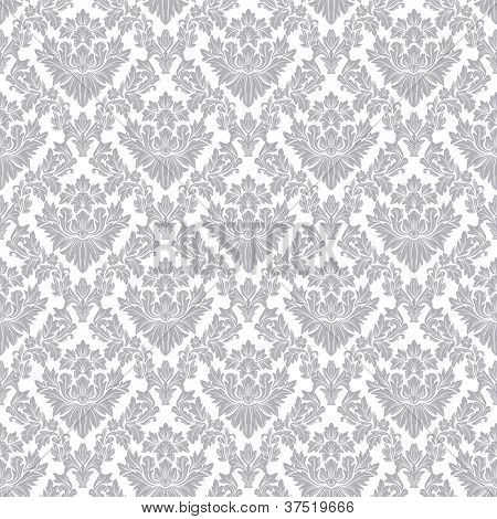 Seamless floral pattern - vector pattern for continuous replicate.