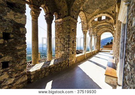 mystische Mystras, Panagia Pantanassa Kloster