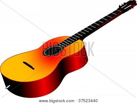 3D Acoustic Guitar