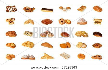 Variety Of Pastry