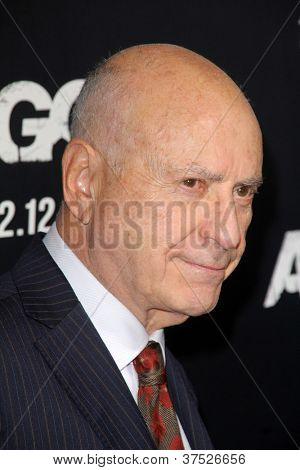 "LOS ANGELES - OCT 4:  Alan Arkin arrives at the ""ARGO"" Premiere at Samuel Goldwyn Theater on October 4, 2012 in Beverly Hills, CA"