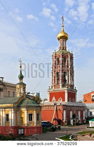 Vysokopetrovsky Monastery,moscow