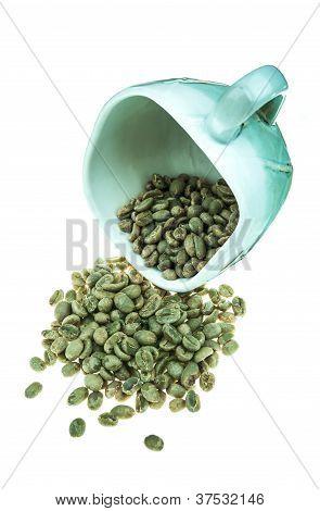 fresh dried coffee bean
