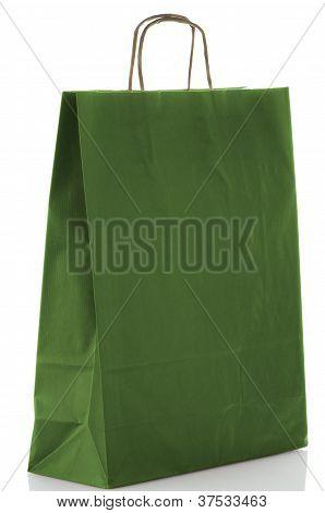Green  Paper Bag