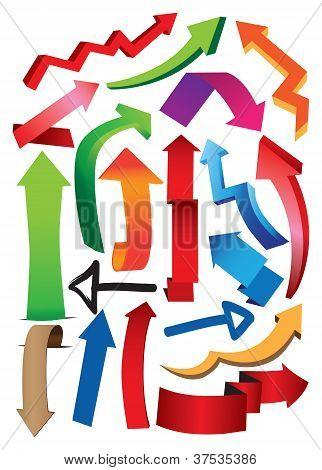 Vector Illustrate Arrows