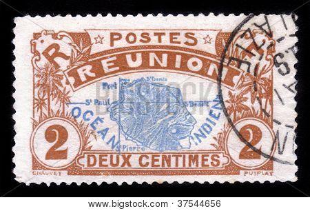 Map Of Reunion Island