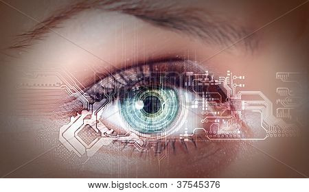 digitale Auge