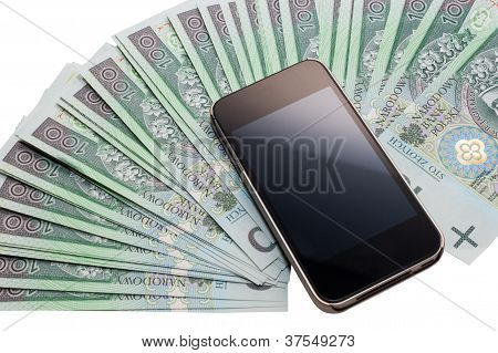 Undefined Cellphone And A Lot Of Money.