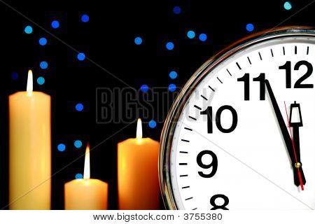 Uhr auf drei Minuten vor Mitternacht festgelegt