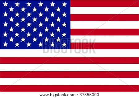 Vector of USA flag
