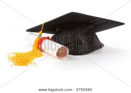 Black Mortarboard